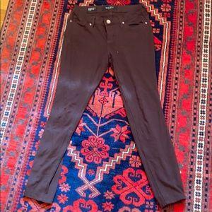 Nine West brown legging jeans